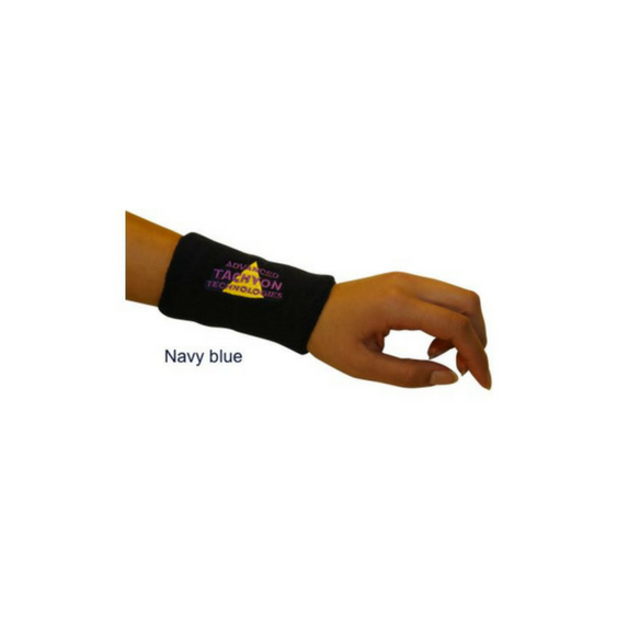 tachyonizovaný nátepník dlhý tmavomodrý
