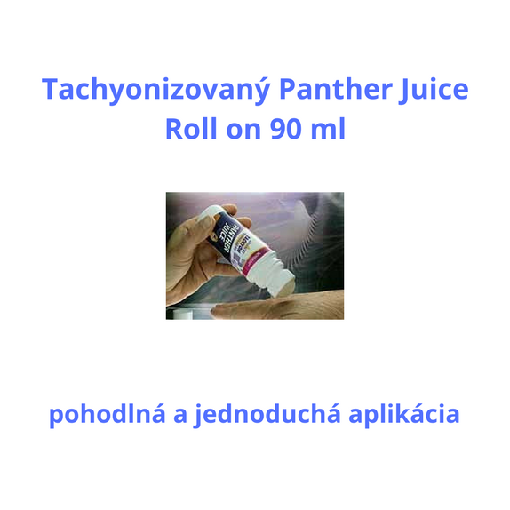 tachyonizovaný panther juice roll on 90 ml