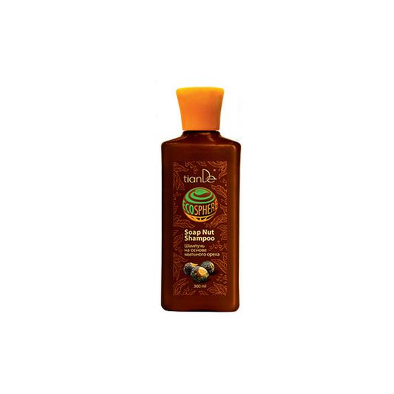Šampón na vlasy na základe mydlových orechov