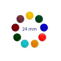 24mm sklenená bunka tachyonizovaná - rôzne farby